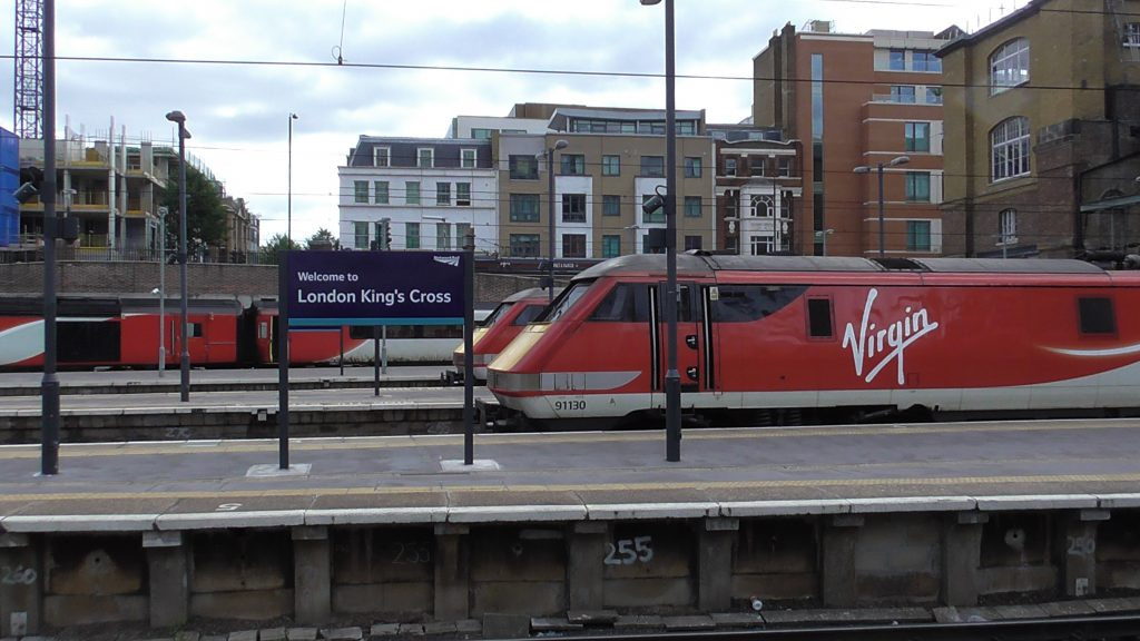 London Kings Cross Railway Station