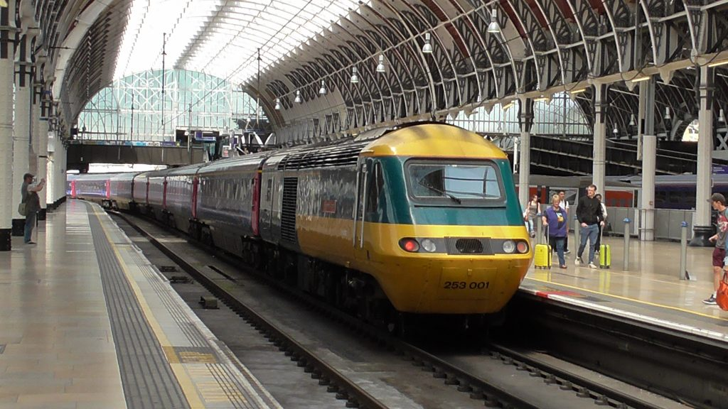 Class 43002 at London Paddington