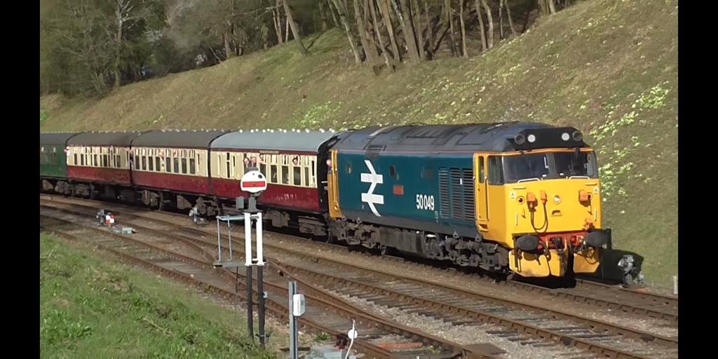Class 50 locomotive