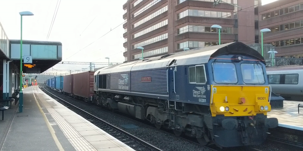 Freight train Watford junction