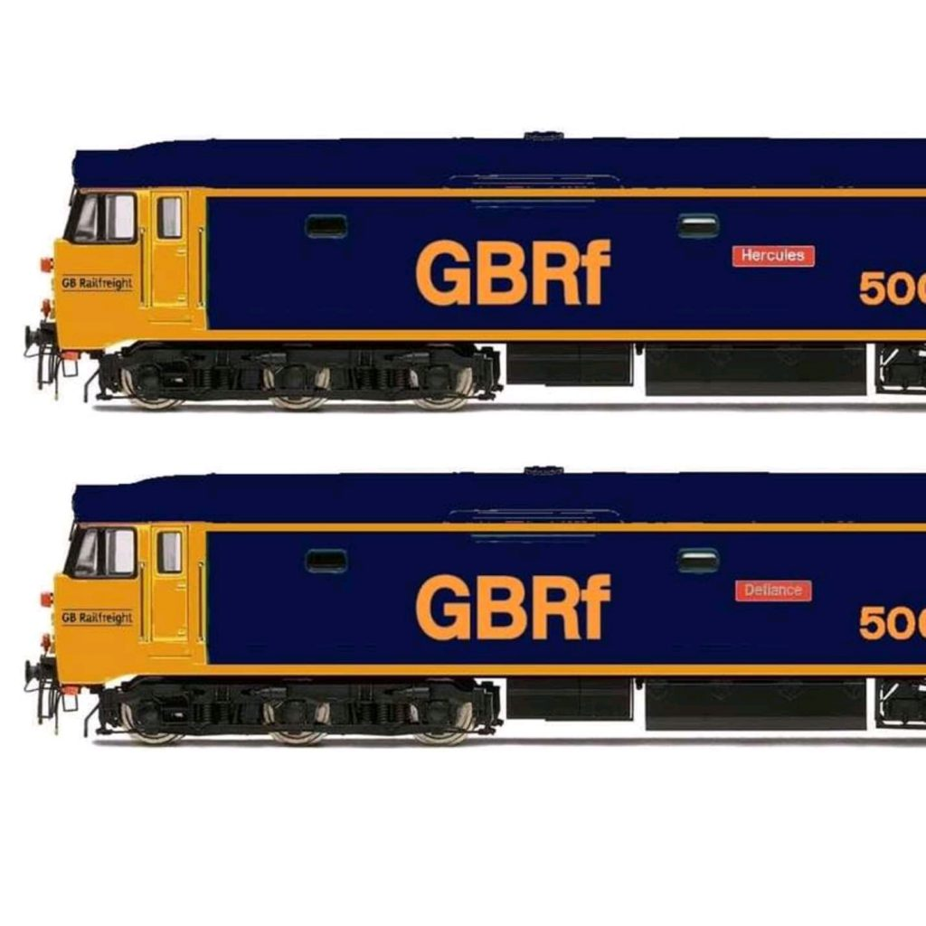 GBRf class 50 livery