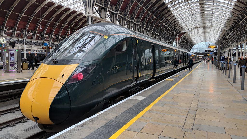GWR Hitachi Class 800 Train at Paddington