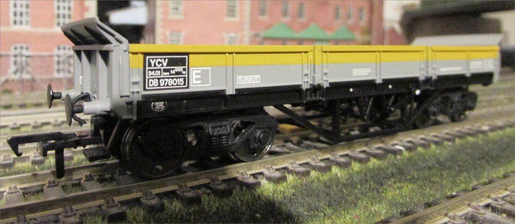 Kernow models YCV Turbot Bogie Ballast Wagon