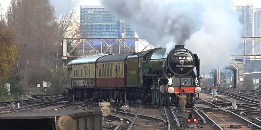 60163 Tornado steam train